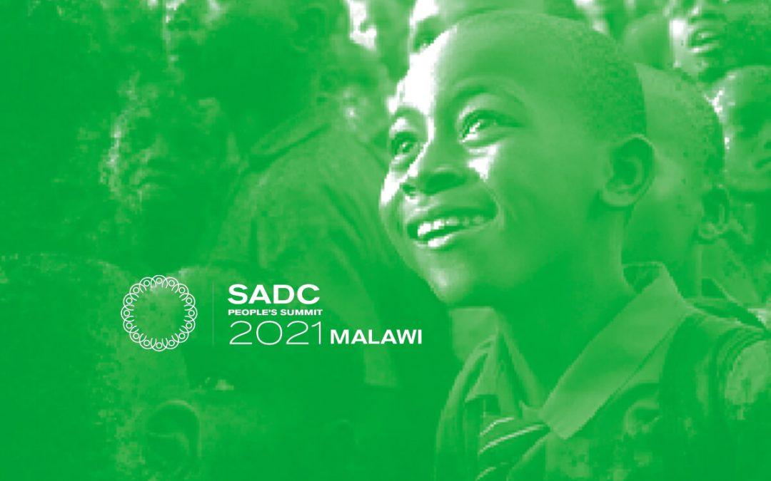 SADC People's Summit 2021Communique